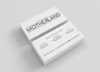 Motherland Business Cards